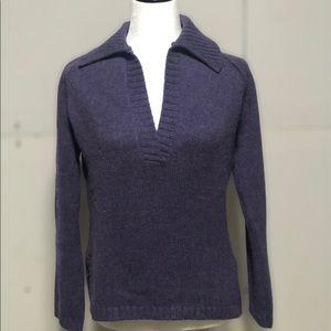 Eddie Bauer Angora blend sweater